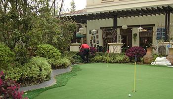 国内建设人造高尔夫球场