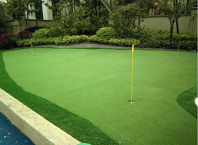 高尔夫练习建设-湖南国际幼儿园