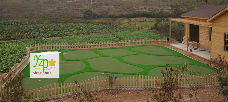 生态农场200平迷你高尔夫建设案例